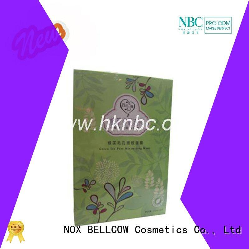 NOX BELLCOW dissolvable facial face mask products series for beauty salon