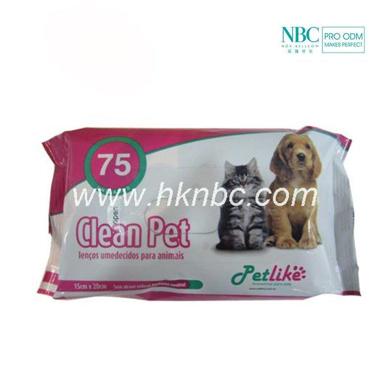 Pet wet wipes