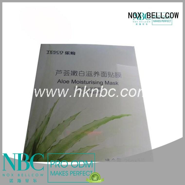NOX BELLCOW relief natural face mask series for travel