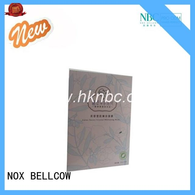 NOX BELLCOW firming korean face mask manufacturer for travel