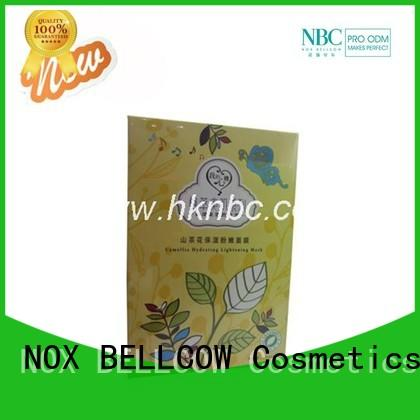 NOX BELLCOW idebenone korean face mask series for home