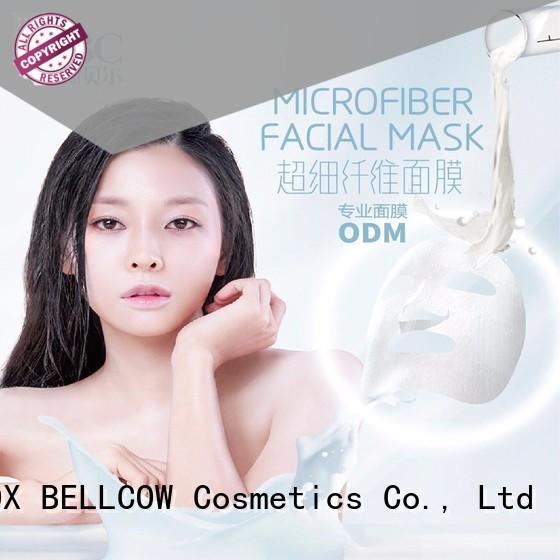 NOX BELLCOW dissolvable korean face mask series for beauty salon
