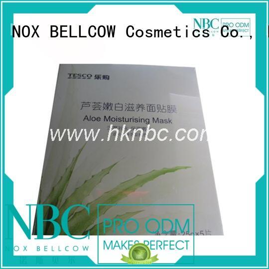 NOX BELLCOW Brand pocket jcar facial mask manufacturer dissolvable factory