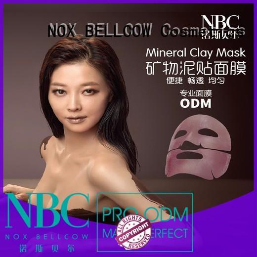 NOX BELLCOW multifunctional best moisturizing face mask bamboo for beauty salon