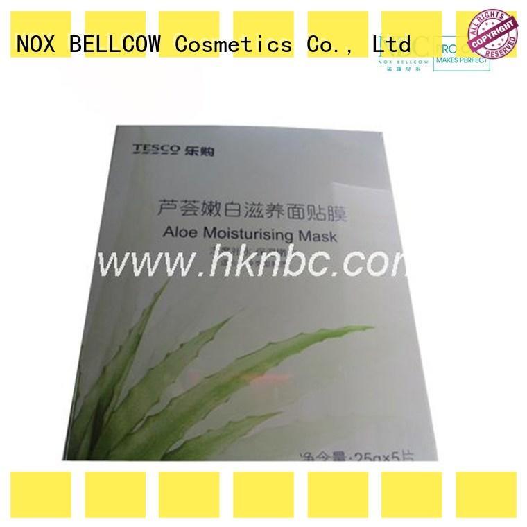 NOX BELLCOW oil control hydrating facial masque factory for man