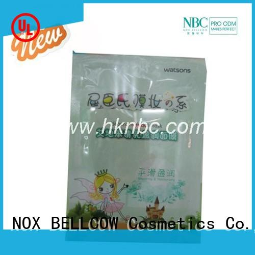 NOX BELLCOW camellia moisturizing face mask supplier for home