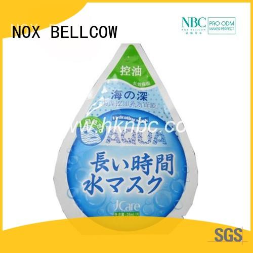 NOX BELLCOW thin facial mask oem series for travel