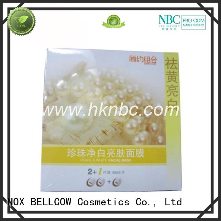 revitalizing hydrating snowy NOX BELLCOW Brand biomass graphene mask factory