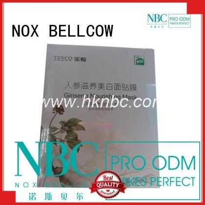NOX BELLCOW cotton best face mask for dry skin factory for women