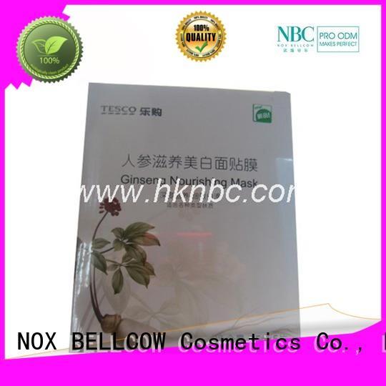 tightening aloe snowy oil biomass graphene mask NOX BELLCOW Brand