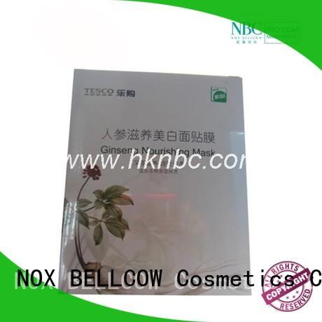 NOX BELLCOW aloe facial face mask factory for man