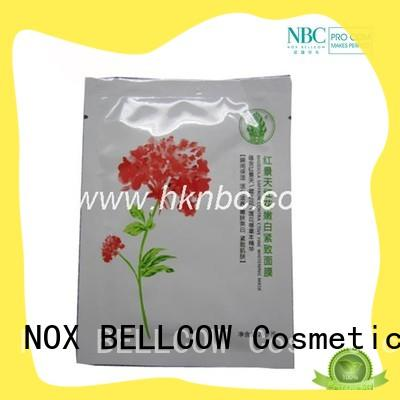 NOX BELLCOW thin sheet face mask series for travel