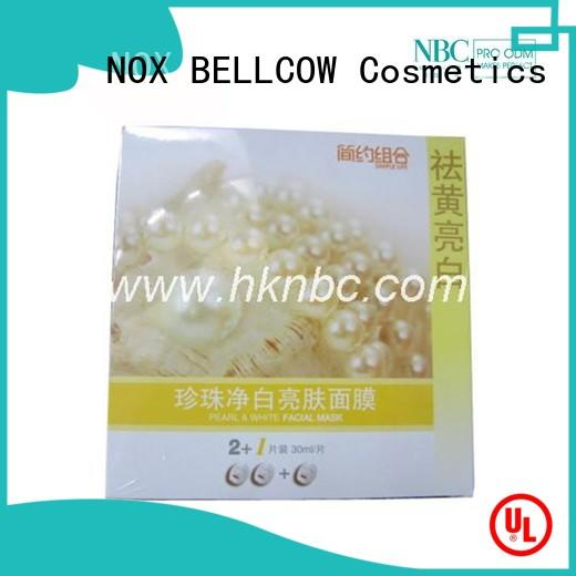 NOX BELLCOW nourishing facial treatment mask series for home