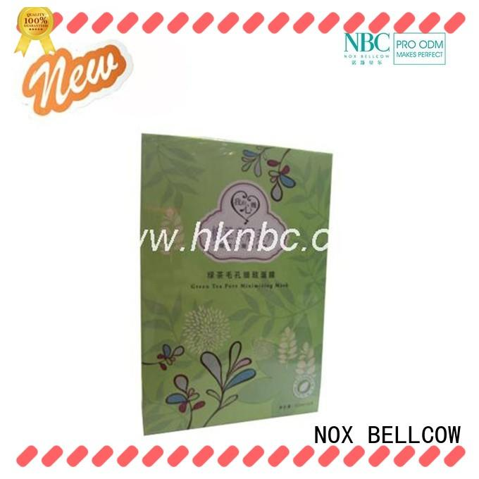 NOX BELLCOW oil control sheet face mask series for travel