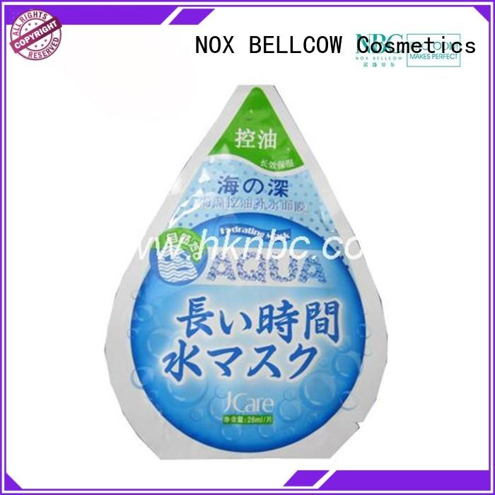NOX BELLCOW instant facial face mask manufacturer for man