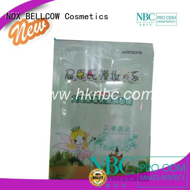 NOX BELLCOW charcoal moisturizing mask fresh for beauty salon