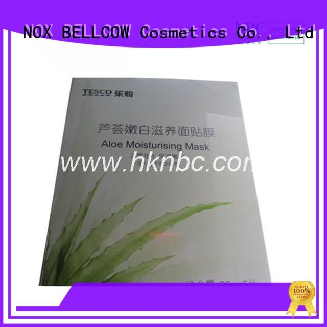 NOX BELLCOW hydrating moisturizing face mask wholesale for home