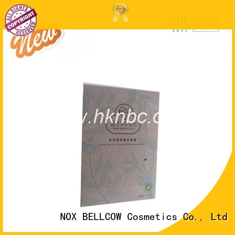 Wholesale efficacy biomass graphene mask whitening NOX BELLCOW Brand