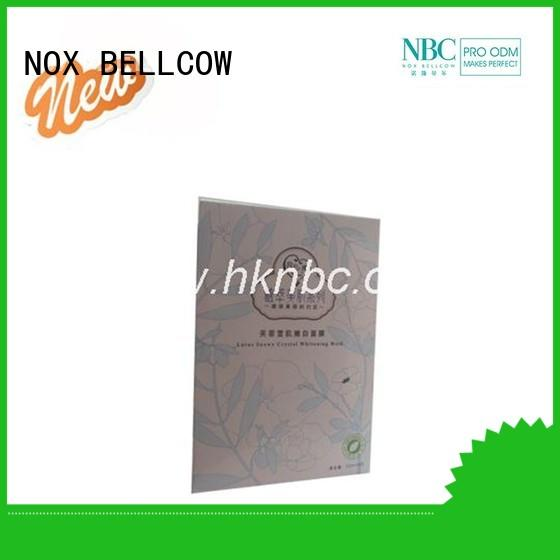 NOX BELLCOW minimizing facial mask skin care products manufacturer for travel