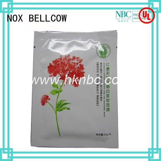NOX BELLCOW thin facial mask oem factory for women