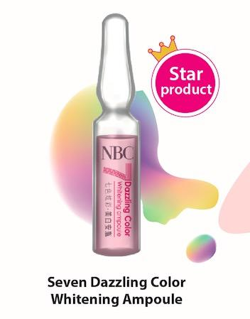 Seven Dazzling Color Ampoule Set