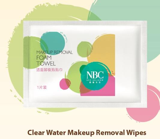 Clear Water Makeup Removal Wipes