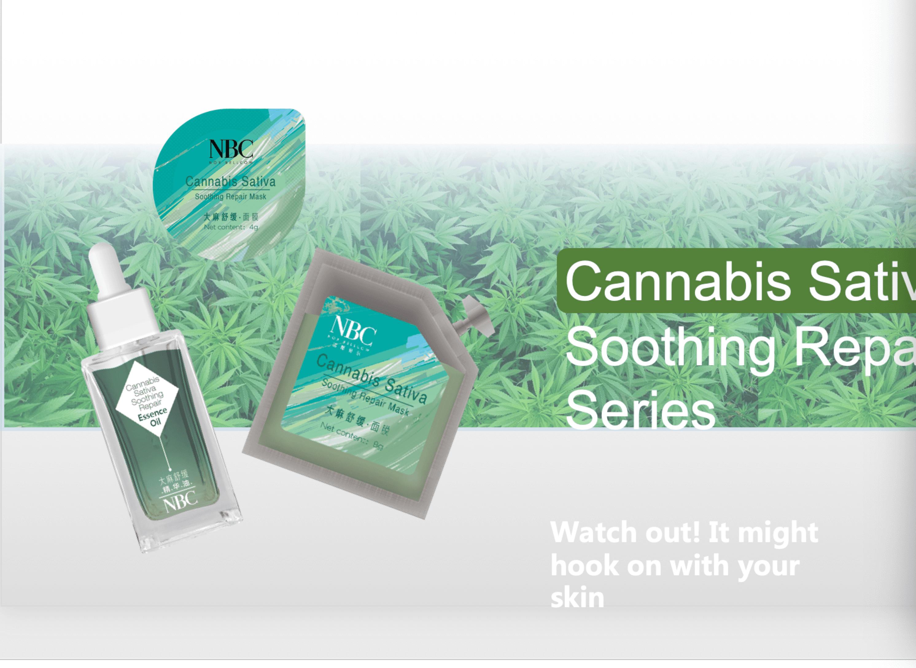 NOX BELLCOW-Cannabis Sativa Skin Care