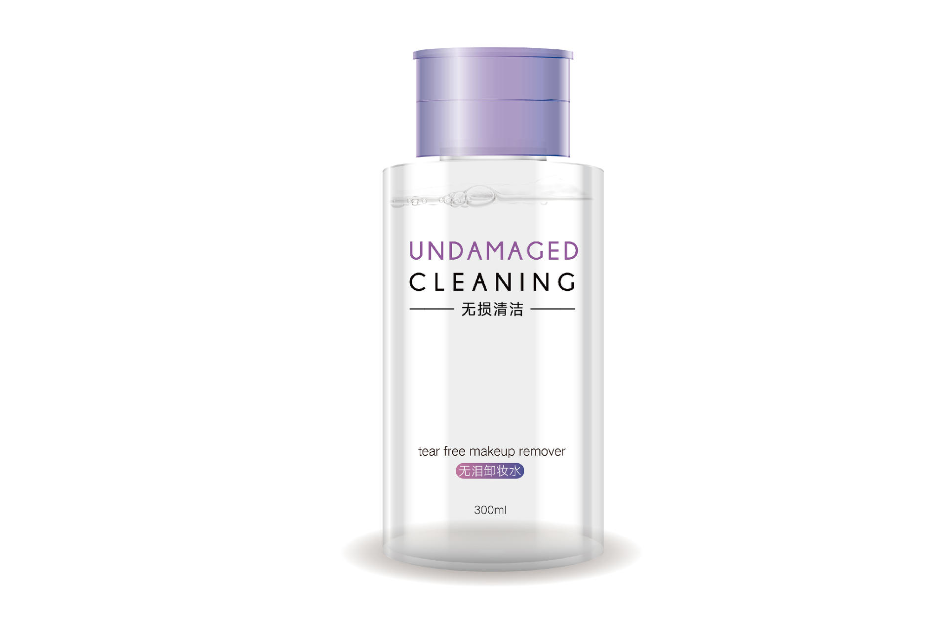 Undamaged Cleaning Tear Free Makeup Remover