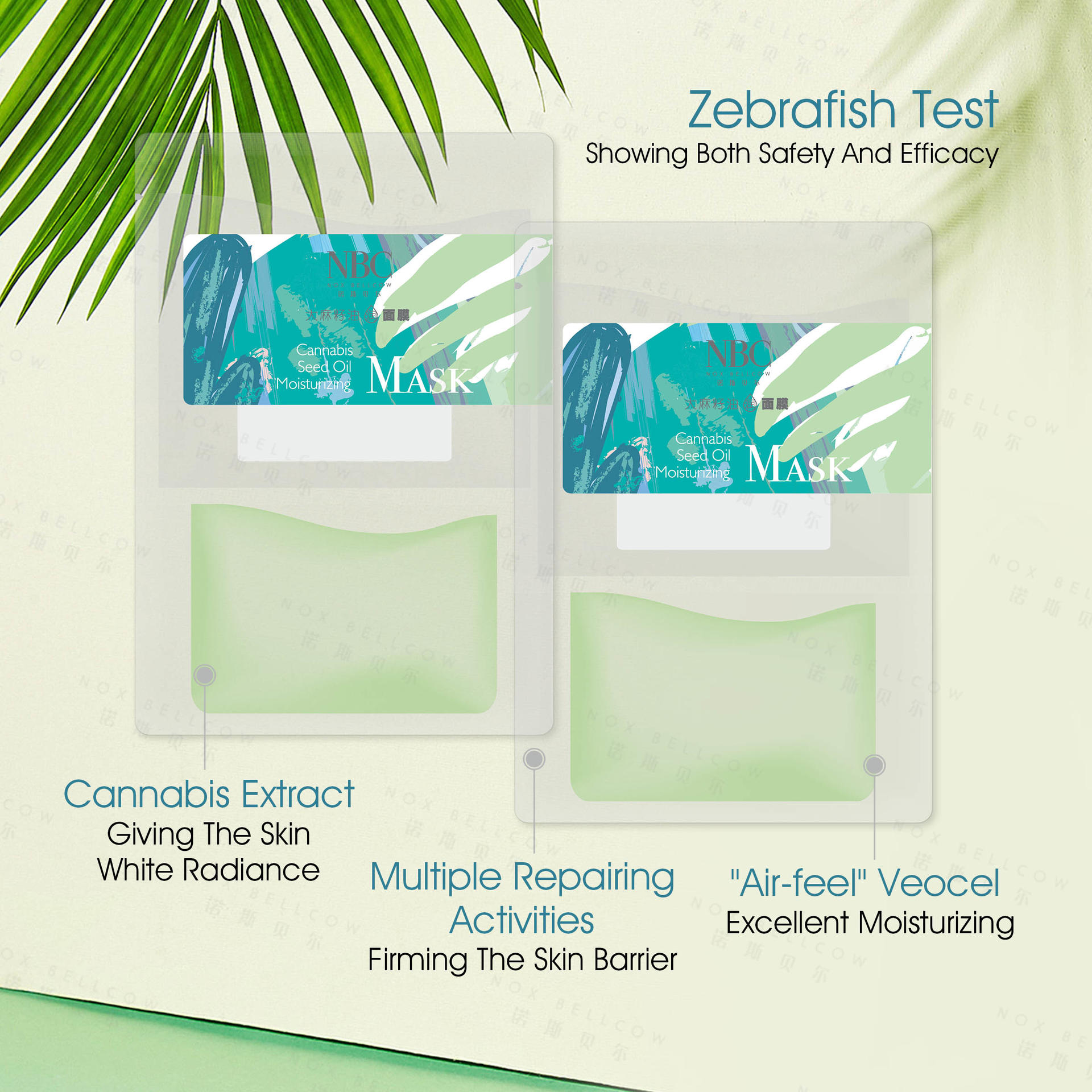Cannabis Whitening Soothing Mask