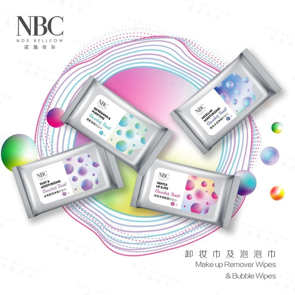 New NBC Cleansing Tissue