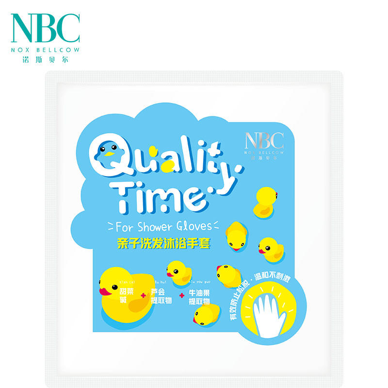 Quality Time · For Shower Gloves