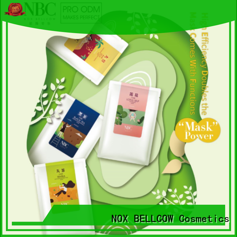 NOX BELLCOW ultra hydrating facial masque series for travel