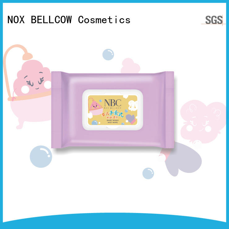 NOX BELLCOW safety wet tissue supplier for women