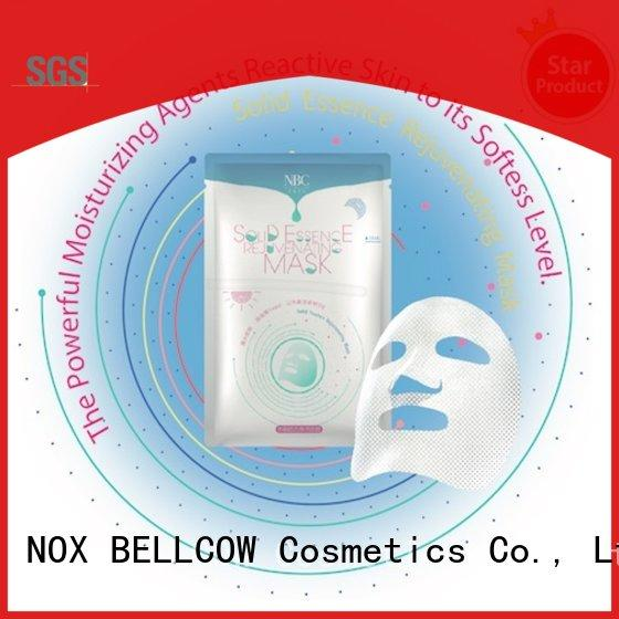 NOX BELLCOW thin facial face mask products manufacturer for travel