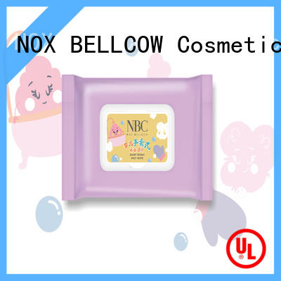 NOX BELLCOW water wet tissue wholesale for skincare