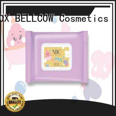 NOX BELLCOW online wet tissue series for skincare