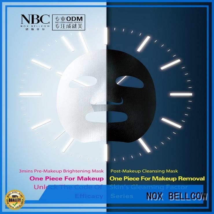 NOX BELLCOW cotton facial face mask factory for beauty salon