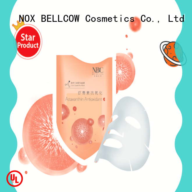NOX BELLCOW tightening facial mask oem factory for travel