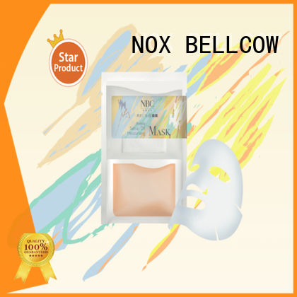 NOX BELLCOW dissolvable facial sheet mask manufacturer series for beauty salon