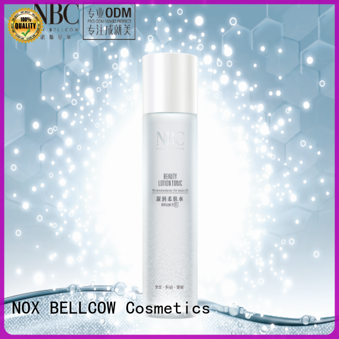 NOX BELLCOW clean skincare cosmetics supplier for travel