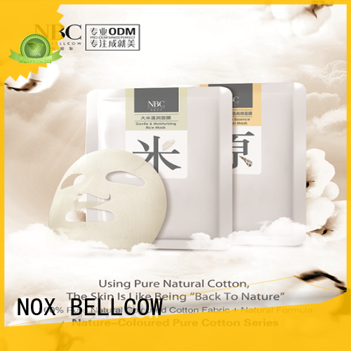 NOX BELLCOW nourishing facial treatment mask series for man
