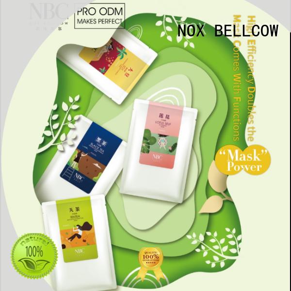 biomass graphene mask idebenone NOX BELLCOW Brand facial mask manufacturer