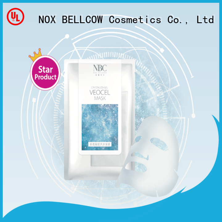 NOX BELLCOW delicate facial sheet mask manufacturer factory for women
