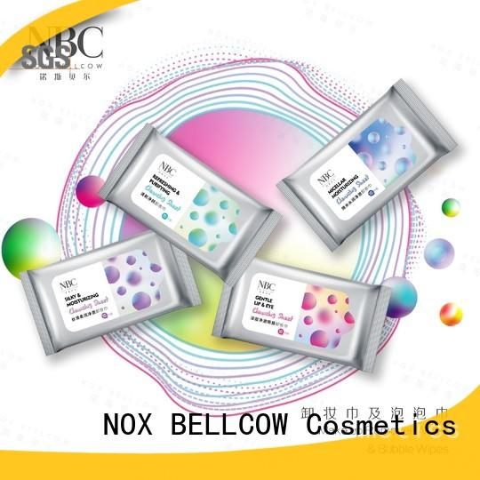 NOX BELLCOW best makeup remover wipes for skincare