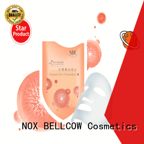 NOX BELLCOW premium facial sheet mask manufacturer factory for travel