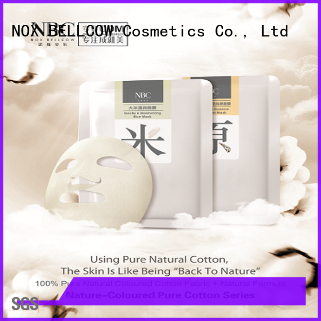 NOX BELLCOW revitalizing facial mask for women wholesale for travel