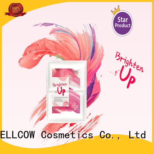 NOX BELLCOW instant japanese face mask series for beauty salon