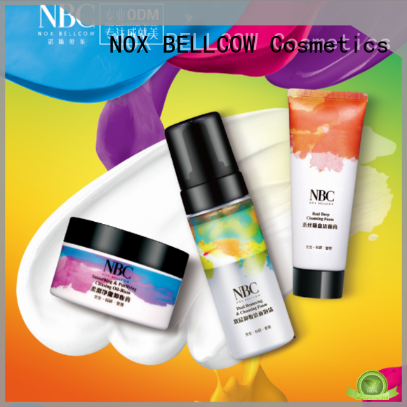 NOX BELLCOW beauty customized skin care products series for beauty salon
