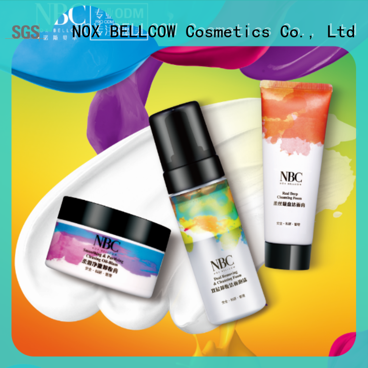NOX BELLCOW nature skin care product supplier for travel