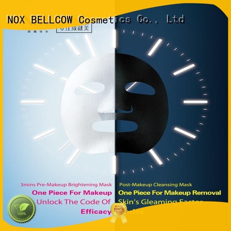 biomass graphene mask hydrogel barrier facial mask manufacturer NOX BELLCOW Brand